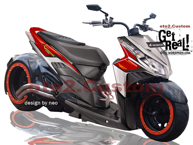 Modifikasi Vario Low Rider