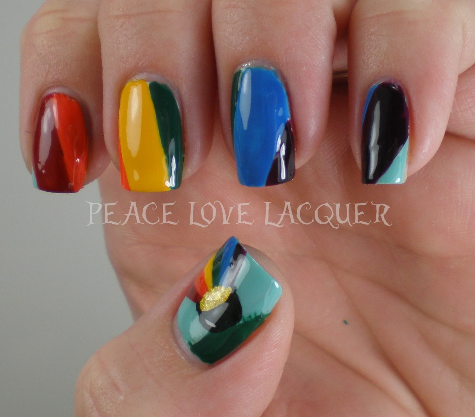 Peace Love Lacquer: Luck of the Irish Nail Art Challenge Day 2 ...
