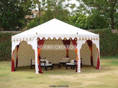 Handcrafted Party Tent