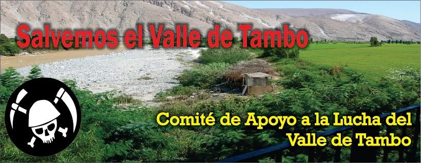 Salvemos el Valle de Tambo