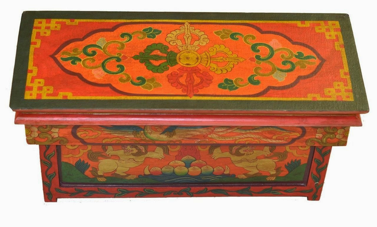 Buddhist Meditation Altar Table