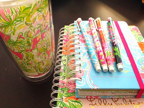2014-2015 Lilly Pulitzer Agenda Review planner summerinlily