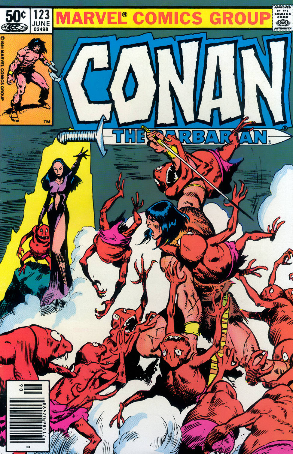 Conan the Barbarian (1970) Issue #123 #135 - English 1