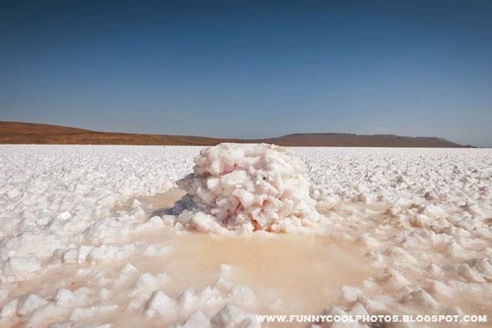 Koyash Salty Lake of Crimea