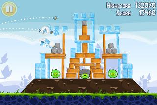 Angry Birds Nokia E63 Java Game