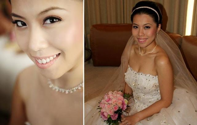 natural fresh bride makeup