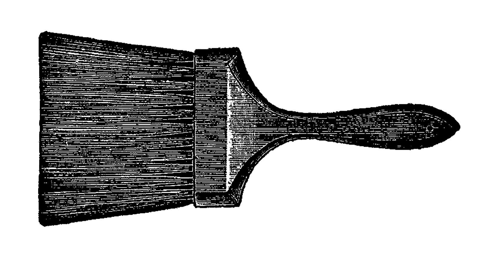 Paint Brush Handle Clipart