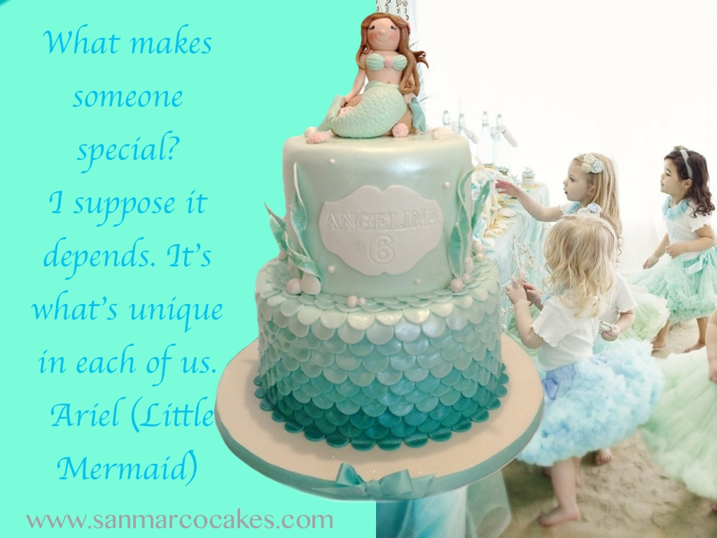 San Marco Cakes Mermaid Themed Birthday Cakes Hot Trend For