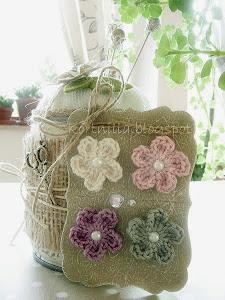 Virkade blommor