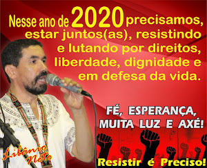 QUE 2020 SEJA DE LUTAS E MUITA RESISTÊNCIA