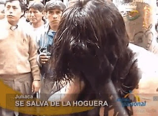 Cabuloso - Prostituta quase queimada viva