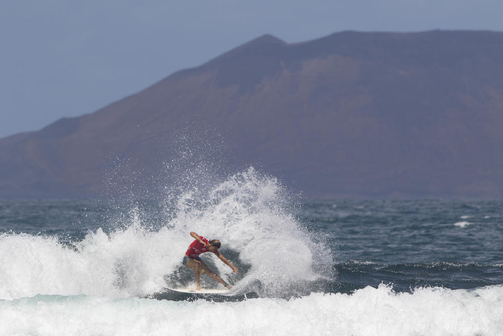 13 Diego Mignot FRA Lanzarote Teguise 2015 Franito Pro Junior SL Gines Diaz