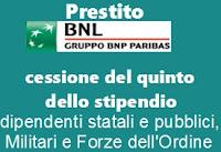 Prestiti personali con cessione del quinto: Salary Power di BNL