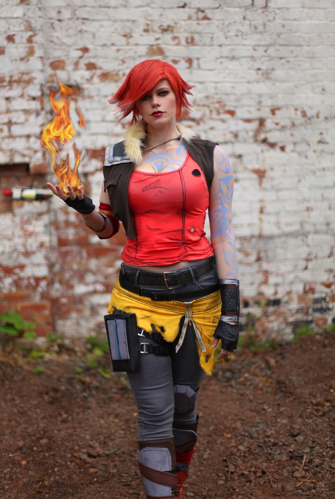 Chrix Design: Lilith Borderlands 2 - making the outfit Lilith Borderlands 2 Cosplay