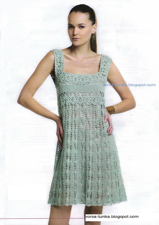 Вязание крючком платья сарафаны на лето новые серии 123