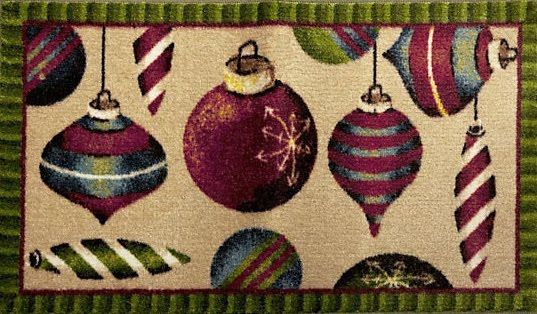 Bargain Holiday Decor Sale Holiday Door Mats Mohawk Door Mat Sale & Tsue ~ That\u0027s What She Said: Greeting Holiday Guests In Style For ... Pezcame.Com