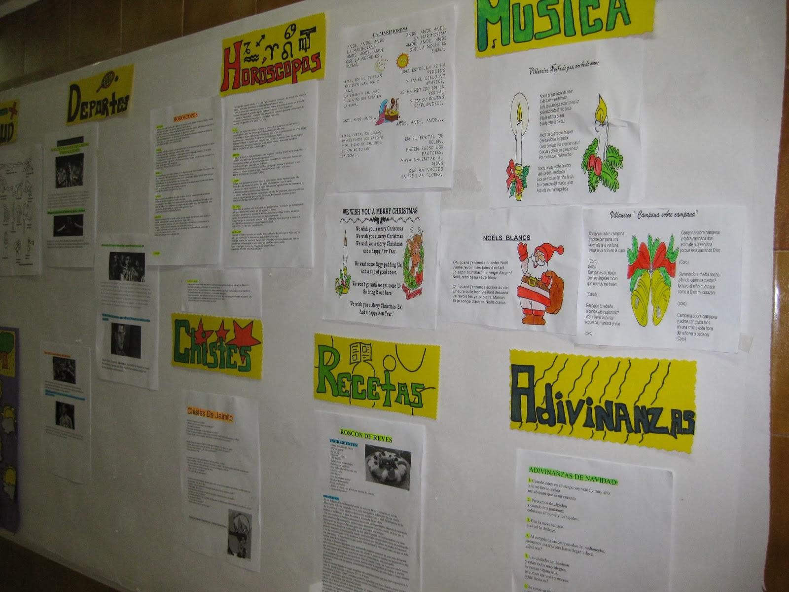 Biblioteca peri dico mural el aprendiz for Amenidades para periodico mural