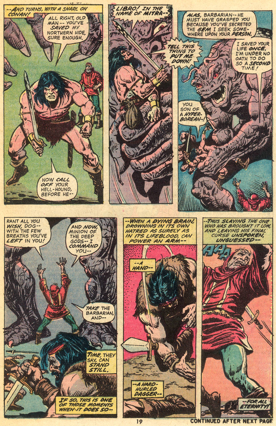 Conan the Barbarian (1970) Issue #40 #52 - English 14