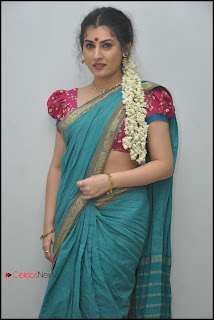 Archana (Veda) Latest Pictures in Saree at Maha Bhaktha Siriyala Audio Release  0037.jpg