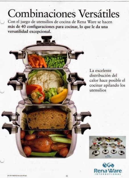Renaware for Precios de utensilios de cocina rena ware
