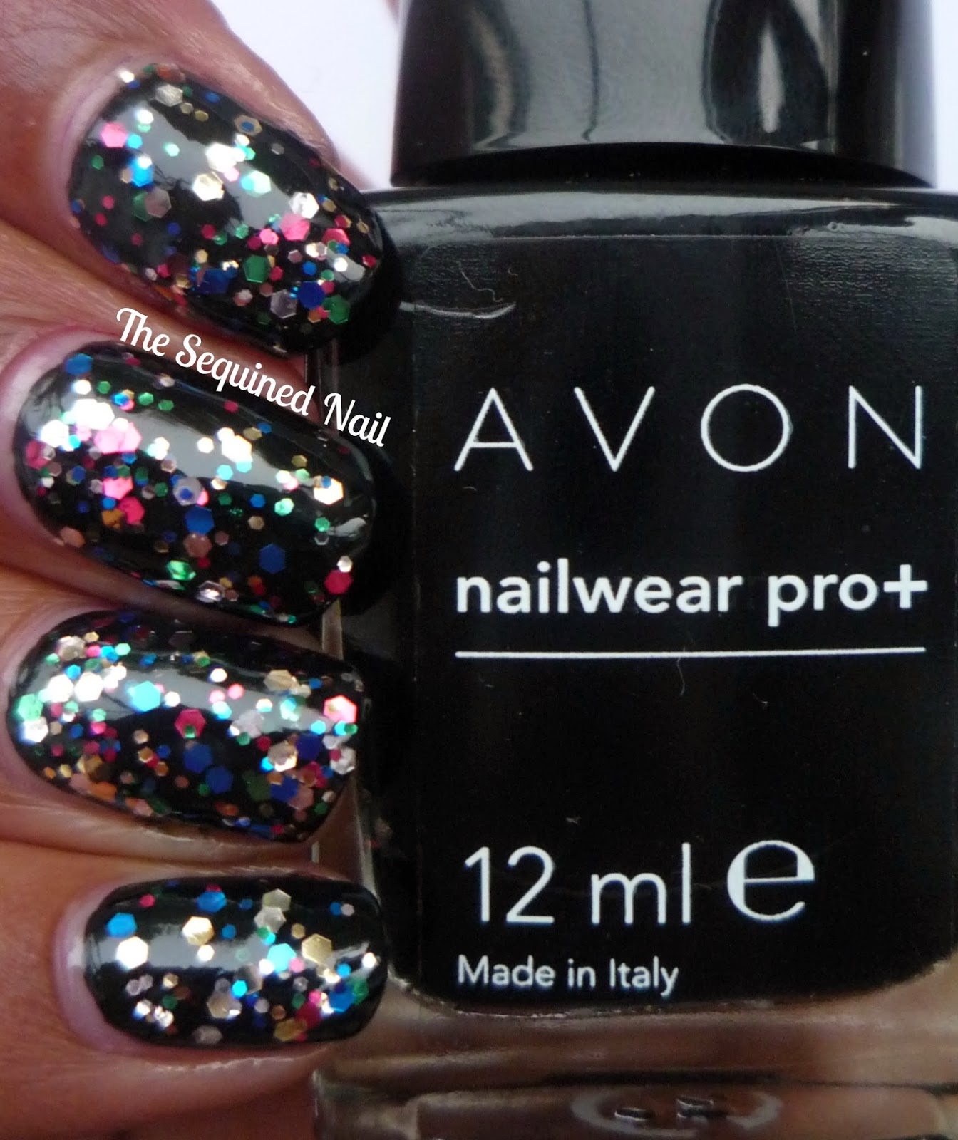 The Sequined Nail: New Years Eve Nails!