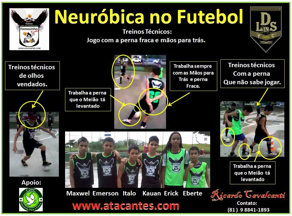 Neuróbica no Futebol.