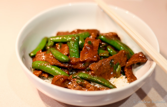 Beef With Snow Peas Beef with snow peas