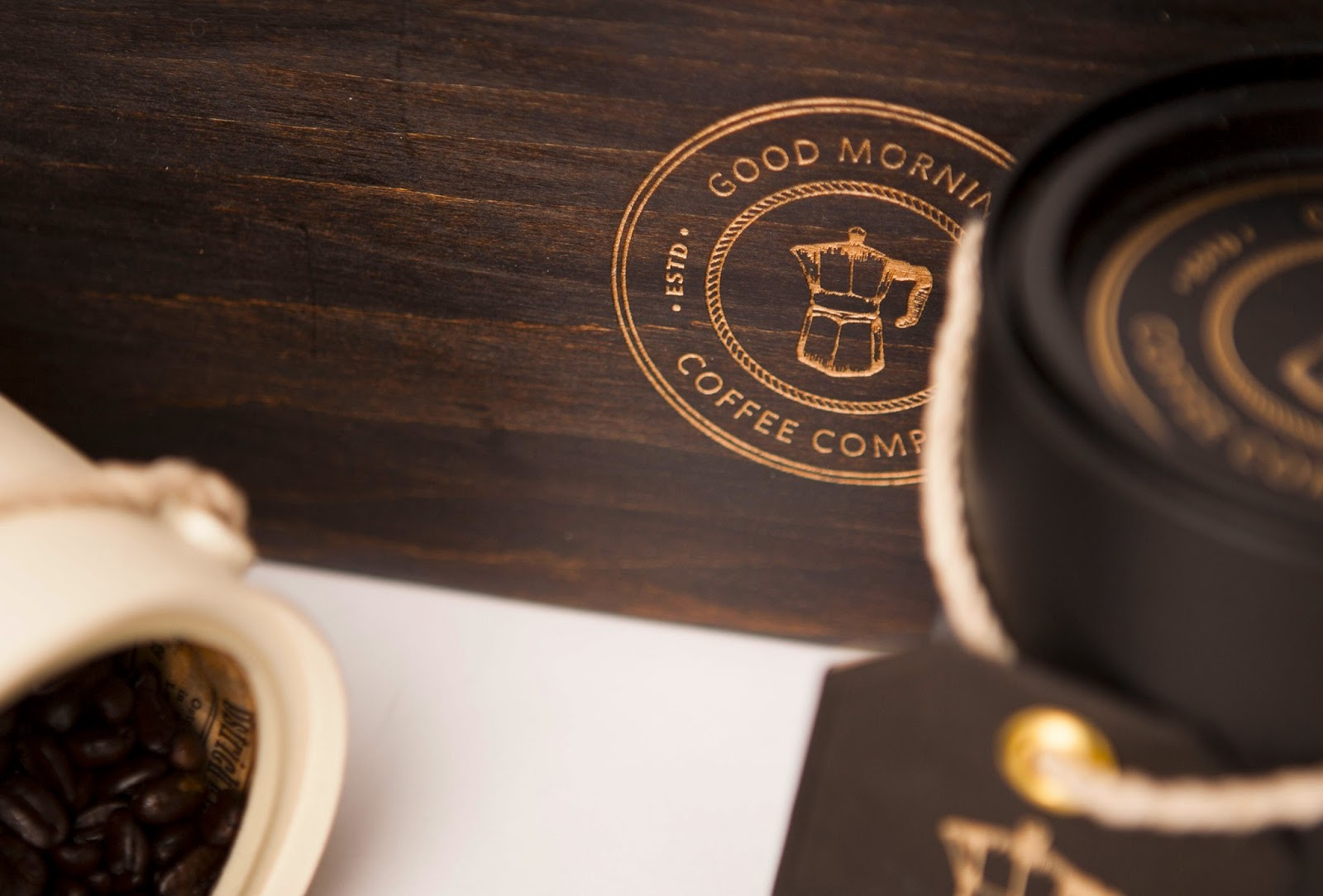 Good Morning Coffee Company Student Work On Packaging Of
