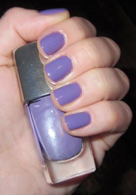 Lancome, Lancome Violet Groove, Lancome Ultra-Lavande Spring 2011 Collection, Lancome Violet Groove Ultra-Lavande Spring 2011, Lancome nail polish, Lancome nail lacquer, nail, nails, nail lacquer, lacquer, polish, nail polish, mani, manicure, mani of the week