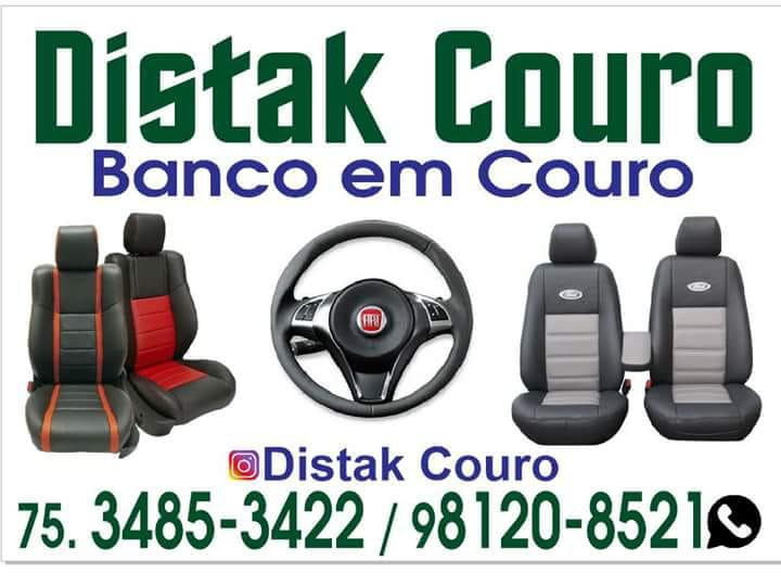 Distak Couro - banco em couro - ligue 3485-3422