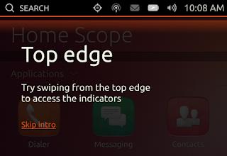 Nuevos mensajes explicativos en Ubuntu Phone, Novedades ubuntu phone, ubuntu phone 1.0