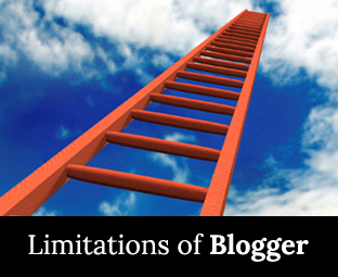 The Limitations Of  Blogger Account
