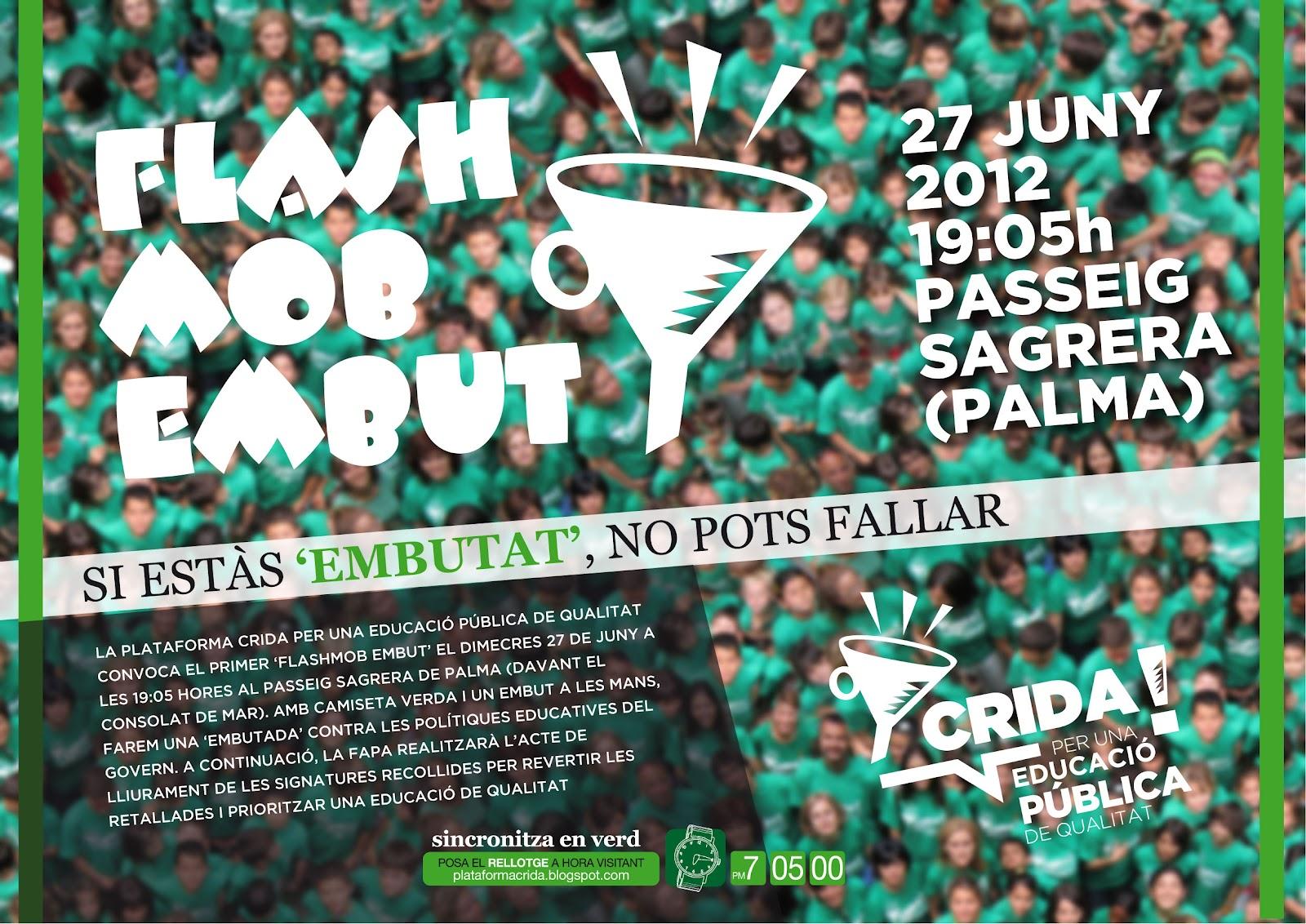 Flashmob de l'Embut (27-06-12)