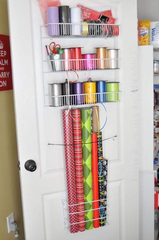 She S Crafty Gift Wrap Organizer