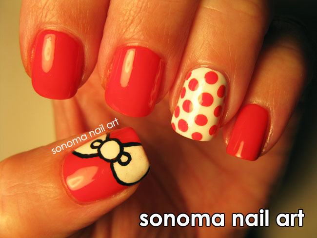 Sonoma Nail Art  Hello Kitty Sans Kitty