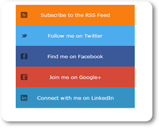 Add Css Social Widget In Blogger