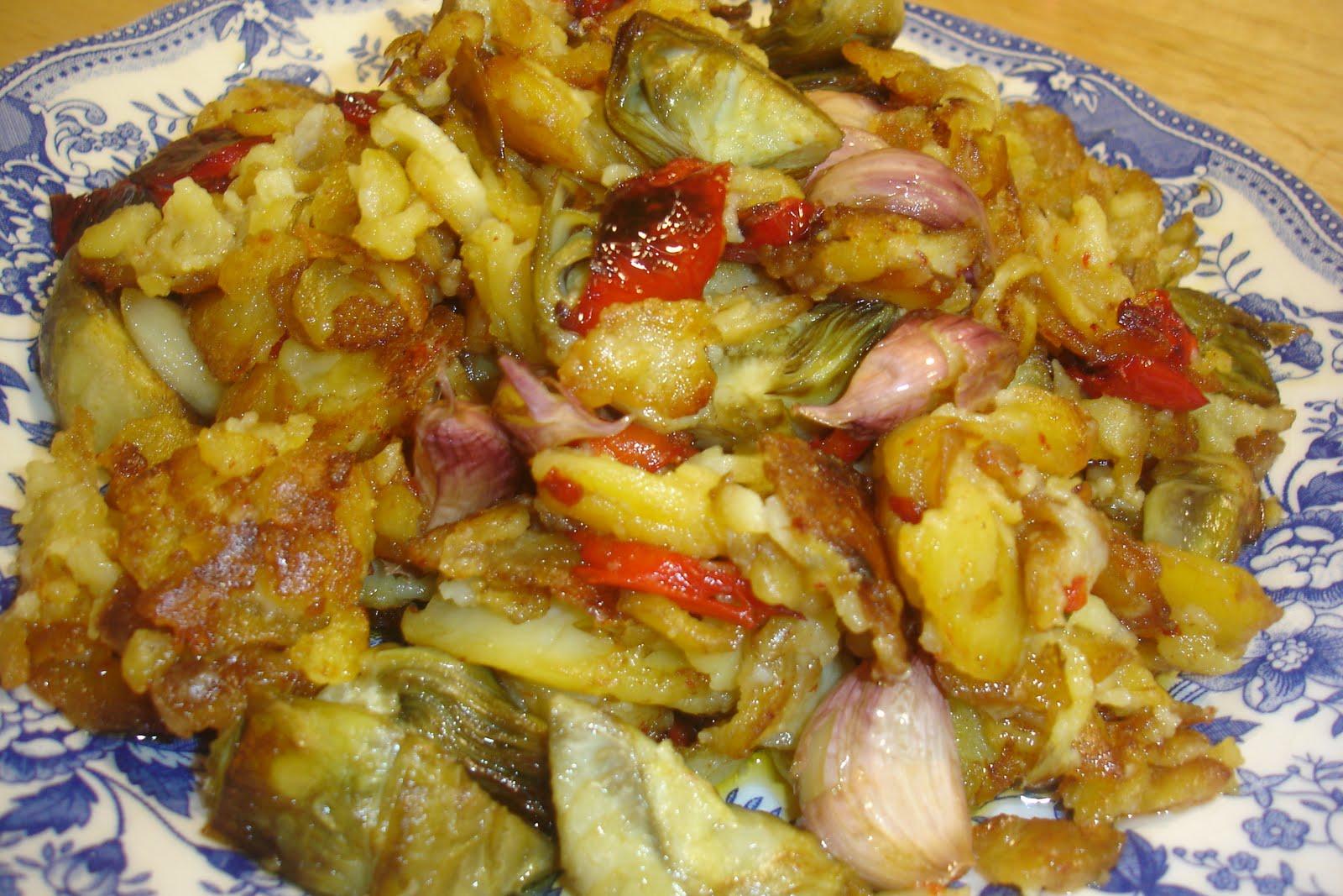 Las recetas de domi patatas a lo pobre for Cocinar patatas a lo pobre