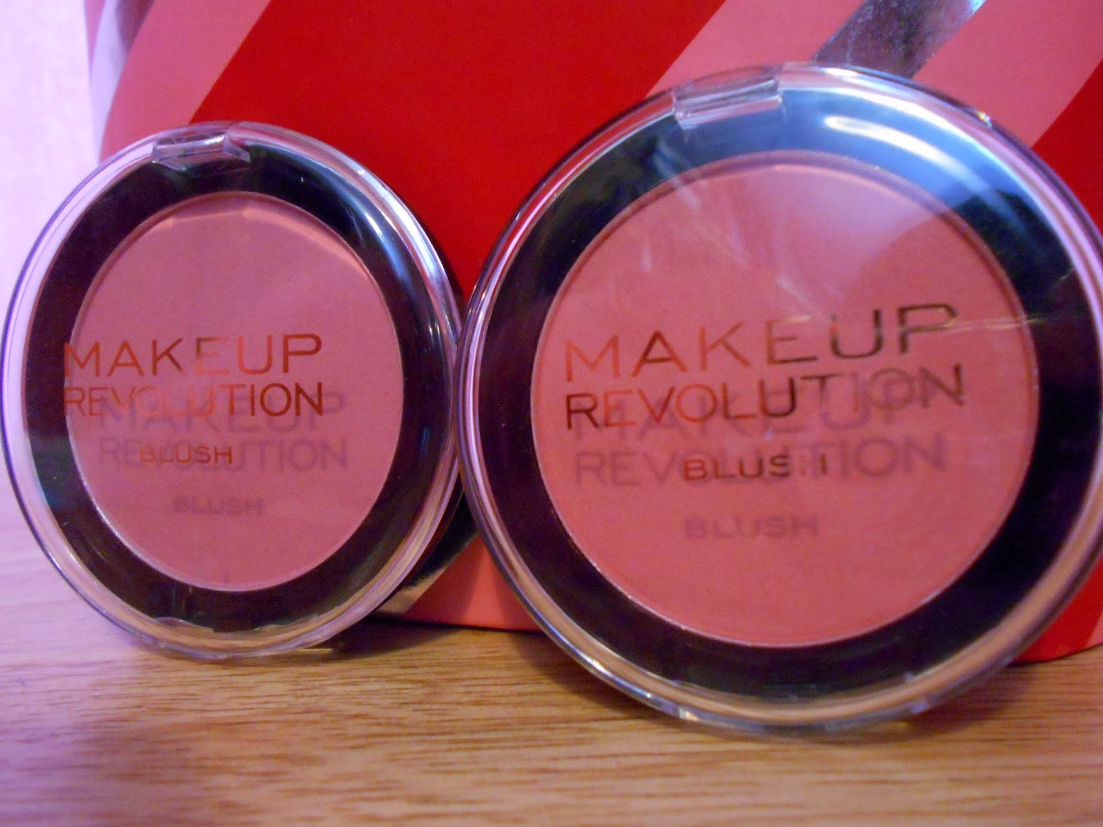 Makeup Revolution Powder Blush - Now! And Sugar