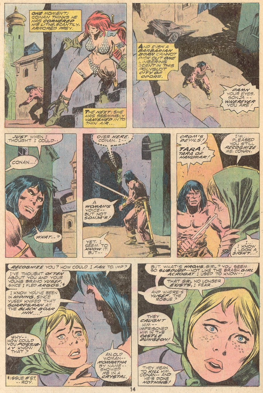 Conan the Barbarian (1970) Issue #67 #79 - English 9