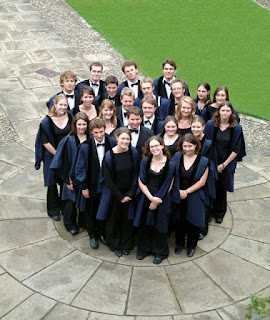 The Choir of Gonville and Caius College, Cambridge