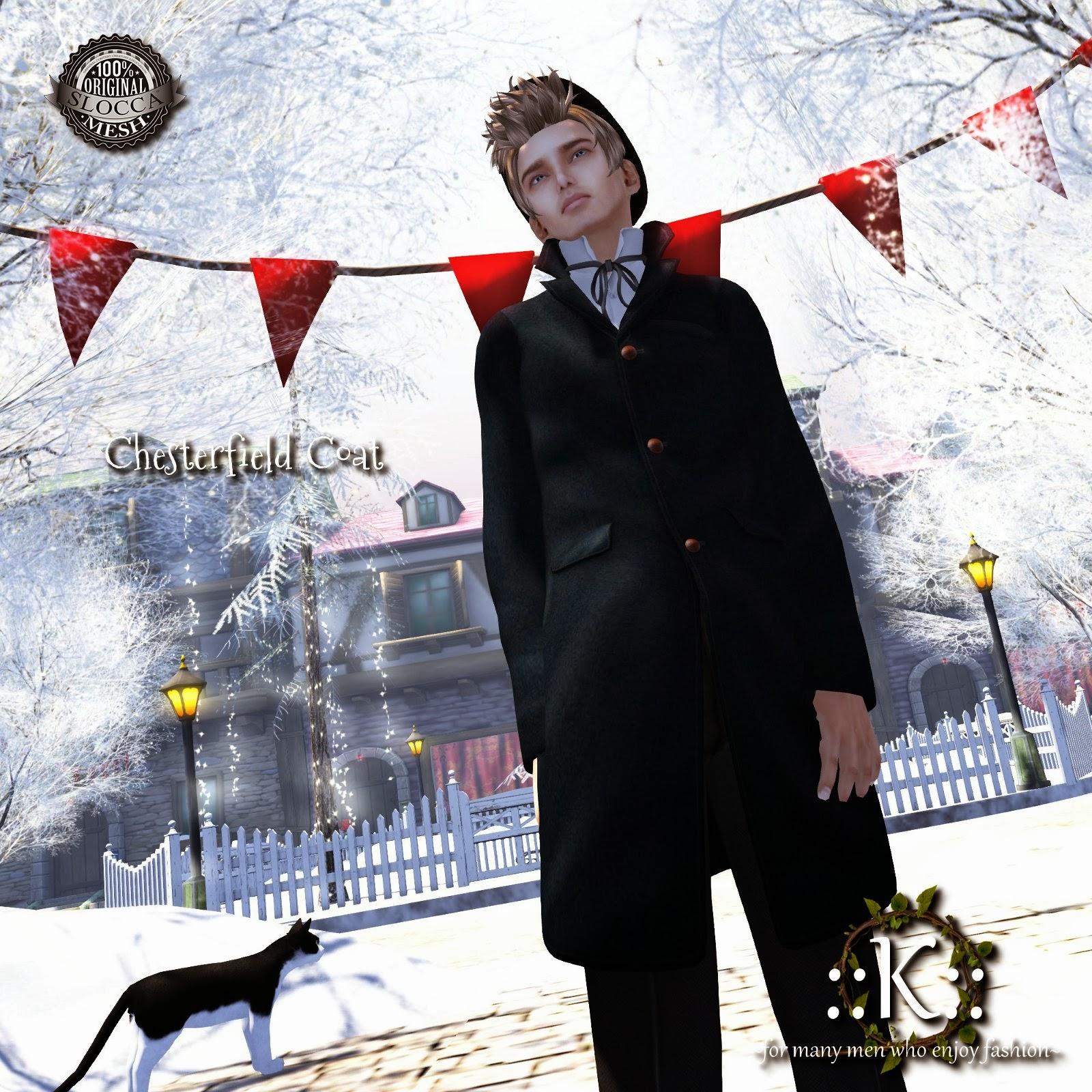 K Chesterfield K Chesterfield Coat   TMD