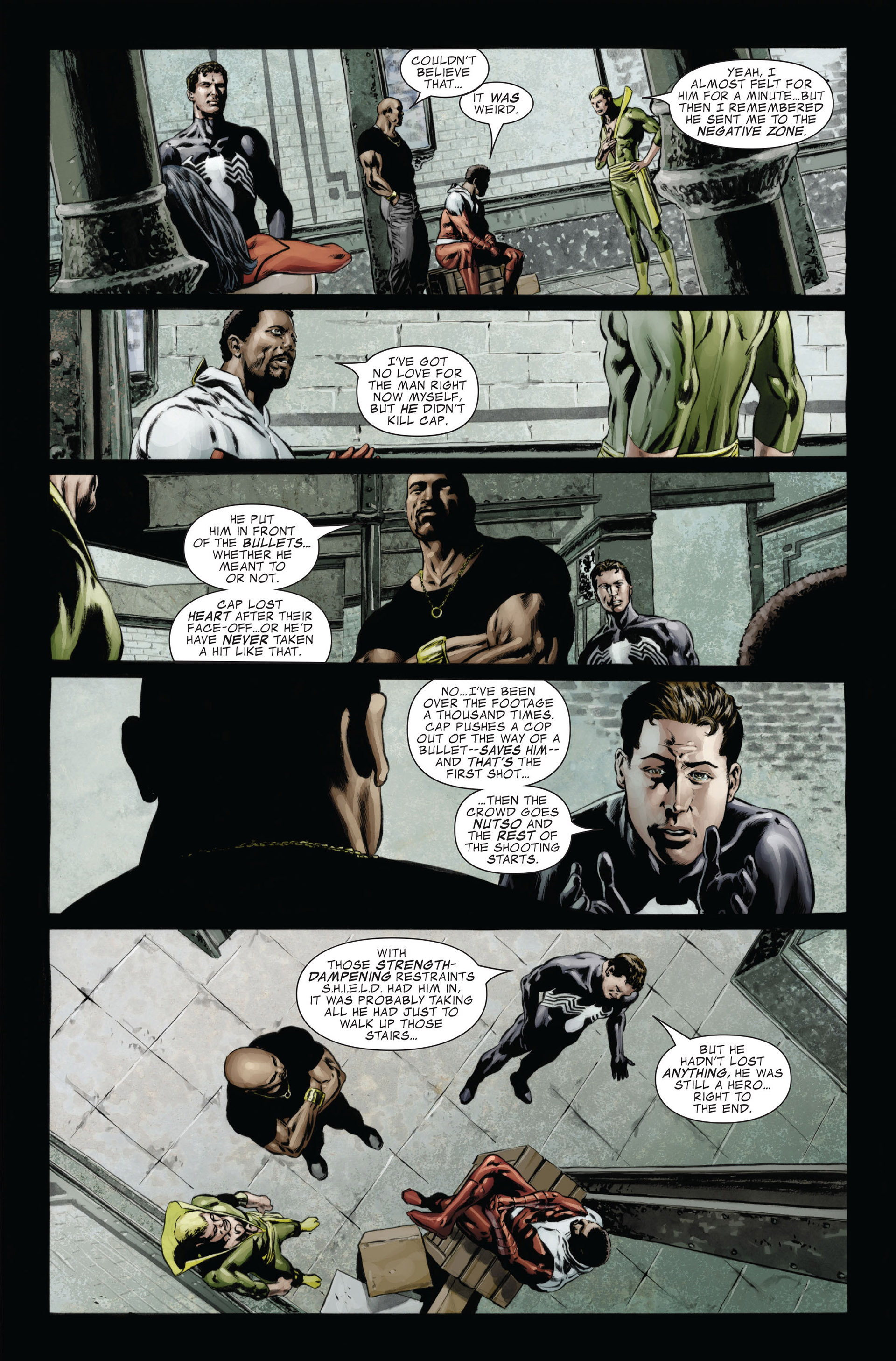 Captain America (2005) Issue #26 #26 - English 17