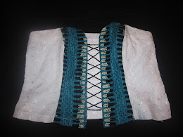 Feather Bustier Front
