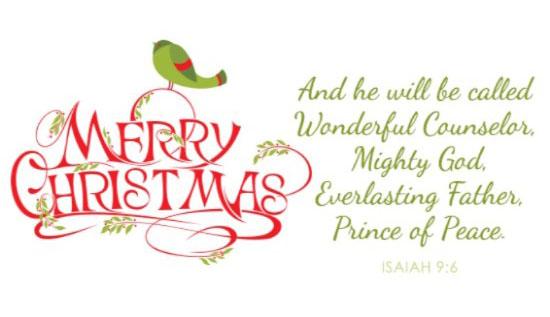 best christmas message card