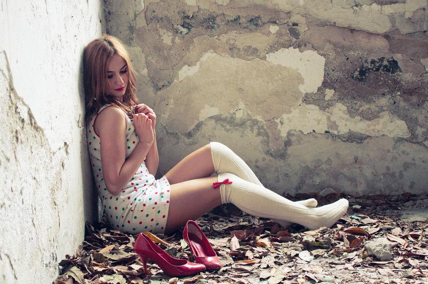 linda mujer sensual: