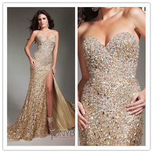 Ultimate Point Gold Prom Dresses 2015 | bridal wedding