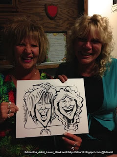 Edmonton caricatures