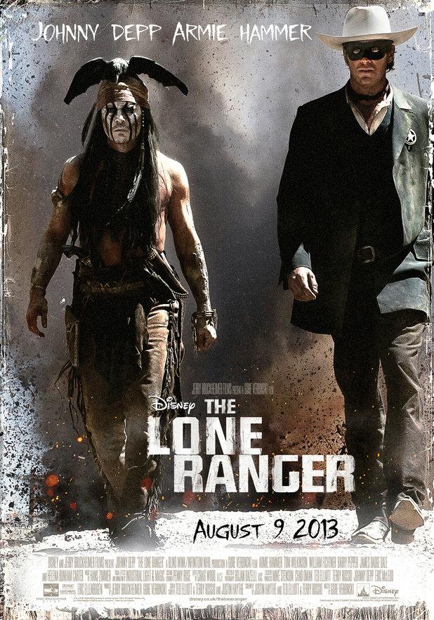 ดูหนังออนไลน์ เรื่อง : The Lone Ranger หน้ากากพิฆาตอธรรม