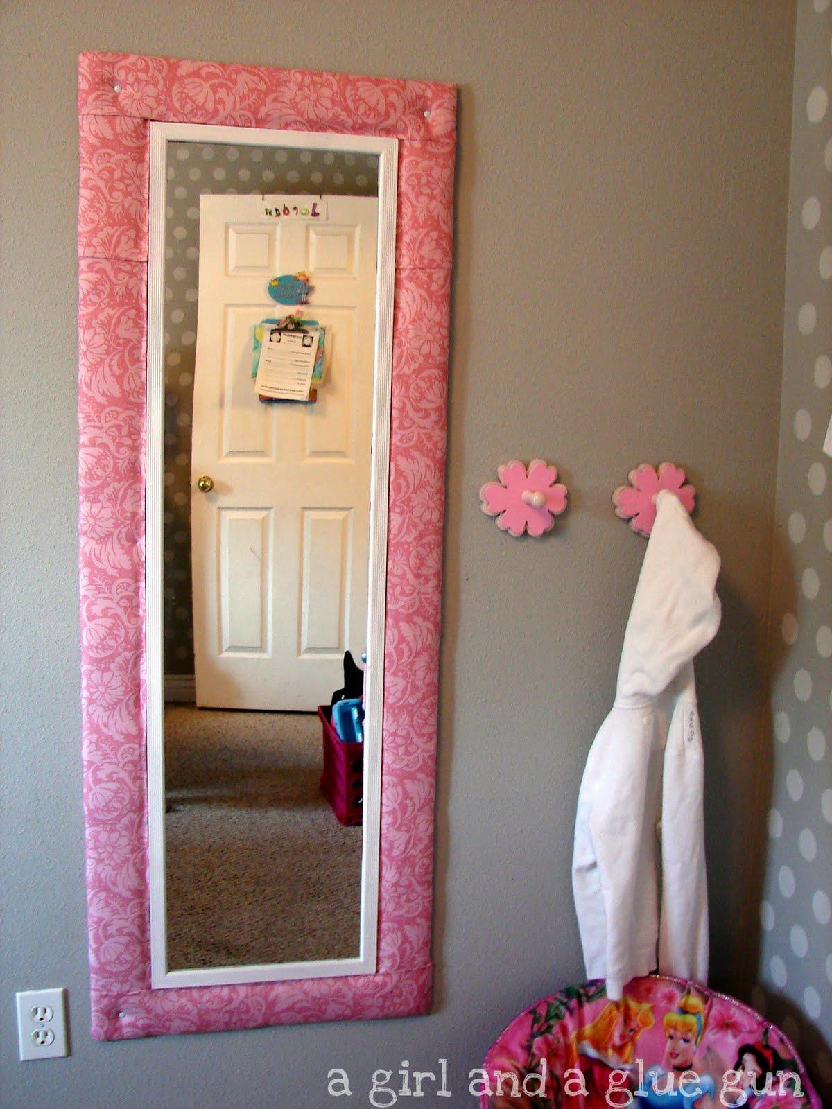 mirror mirror on the wall. mirror mirror on the wall      A girl and a glue gun