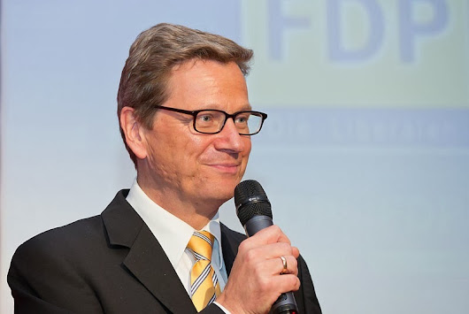 Poll: Westerwelle's most popular foreign minister since Steinmeier